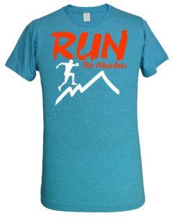 "Playera ""Run The Mountain"""